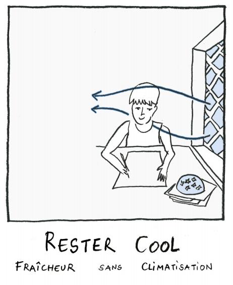 Rester COOL, BD confort en climat chaud
