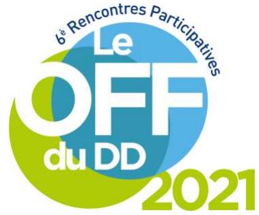 Lancement du OFF du DD, édition 2021